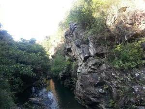 瀑布及大峡谷